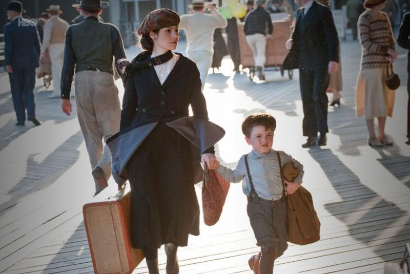 Aleksa Palladino in una scena dell'episodio Paris Green di Boardwalk Empire