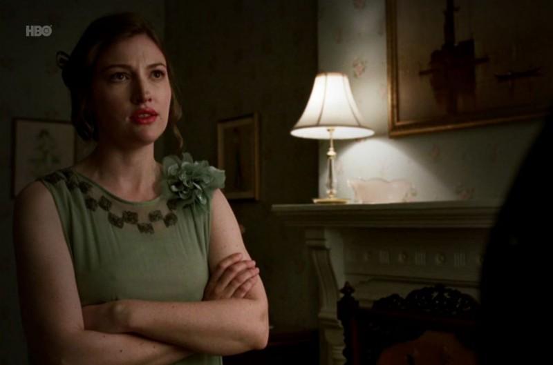Kelly Macdonald in una scena dell'episodio Paris Green di Boardwalk Empire