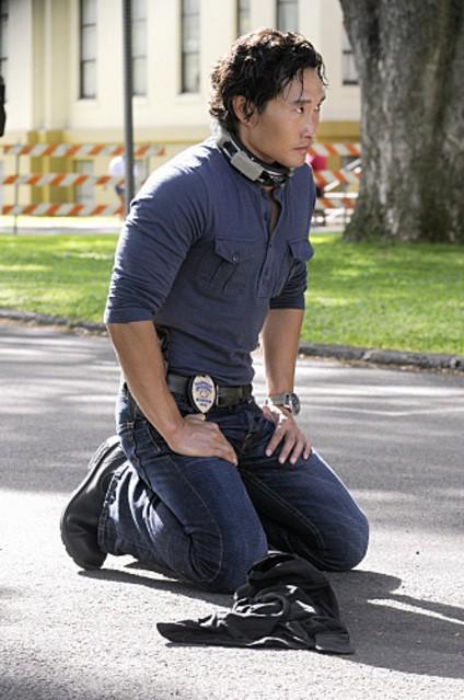 Daniel Dae Kim in Hawaii Five-0 nell'episodio Hana'a'a Makehewa