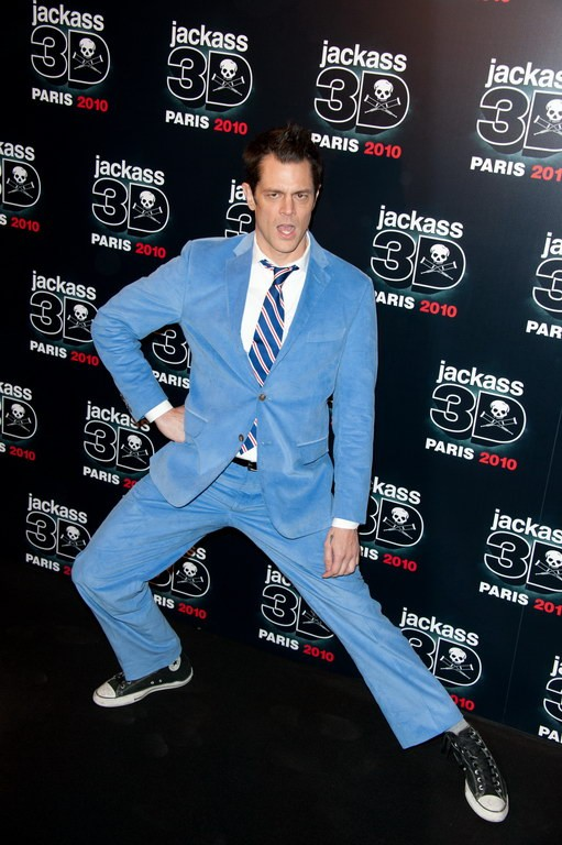 Johnny Knoxville alla premiere di Jackass 3-D a Los Angeles