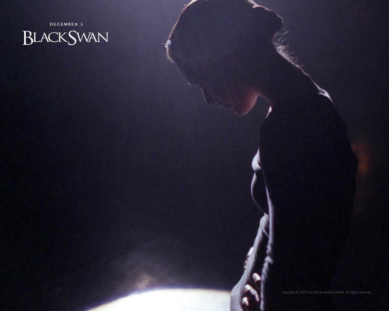 Poster di Natalie Portman per il thriller Black Swan