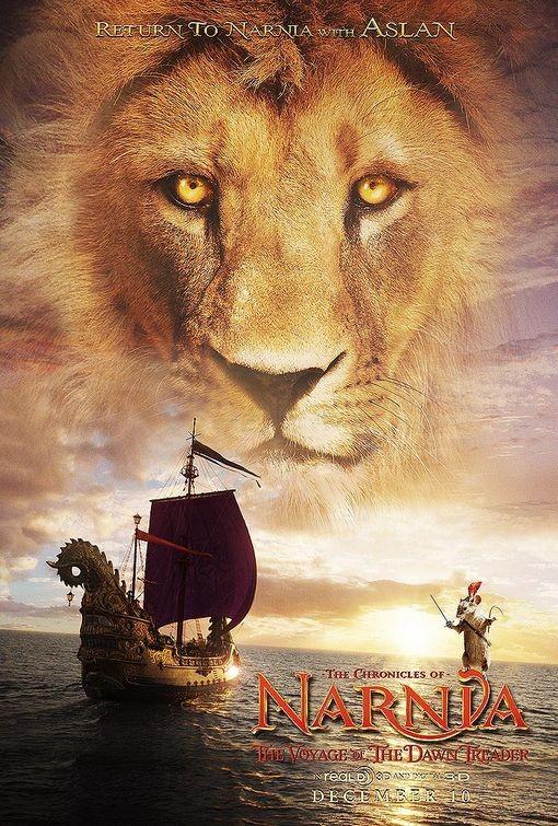 Chaaracter Poster di Le cronache di Narnia: Il viaggio del veliero - Aslan