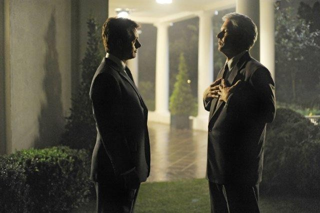 Dennis Quaid e Michael Sheen, protagonisti del film I due presidenti (The Special Relationship)