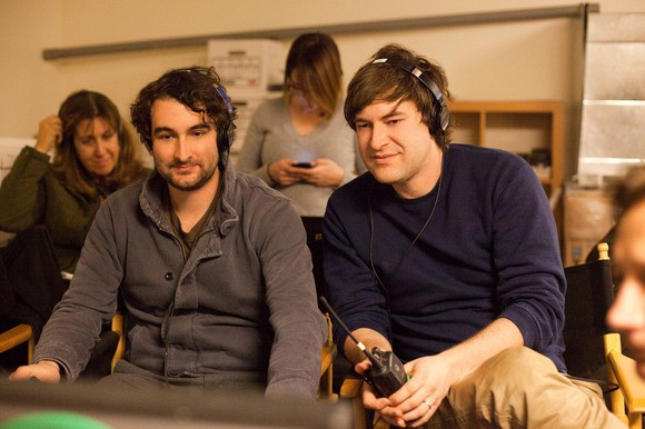 I fratelli Jay Duplass e Mark Duplass sul set del loro Cyrus