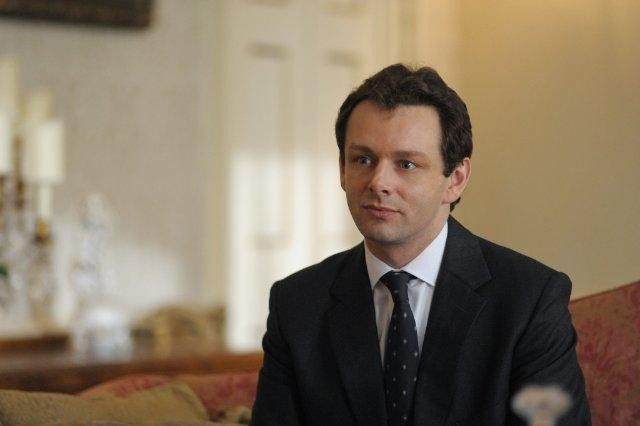 Michael Sheen nel film I due presidenti
