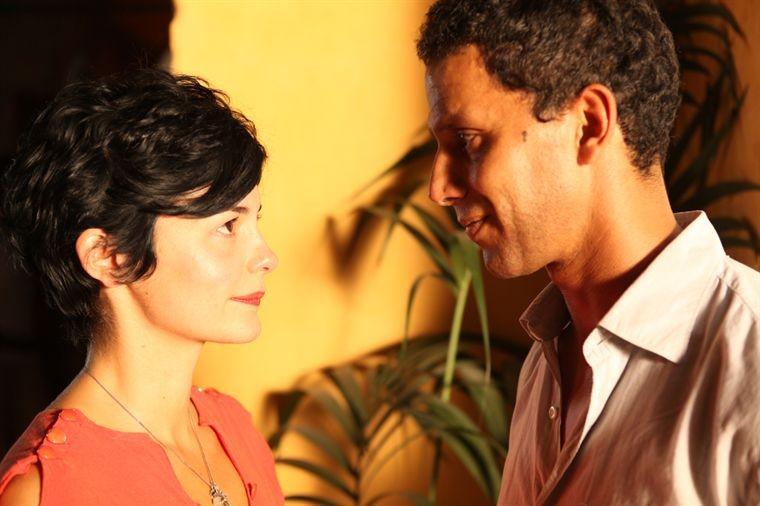 Audrey Tautou e Sami Bouajila in un'immagine di De vrais mensonges