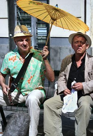 Emanuele Dell'Aquila e Paolo Rossi in un'immagine di RCL - Ridotte Capacità Lavorative