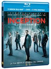 La copertina di Inception (blu-ray)
