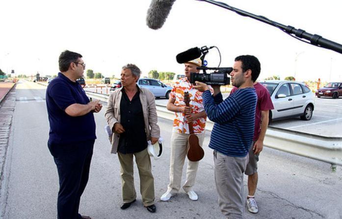Paolo Rossi con Emanuele Dell'Aquila e Alessandro Di Rienzo in RCL - Ridotte Capacità Lavorative