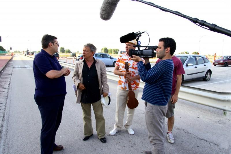 Paolo Rossi in una sequenza del film RCL - Ridotte Capacità Lavorative
