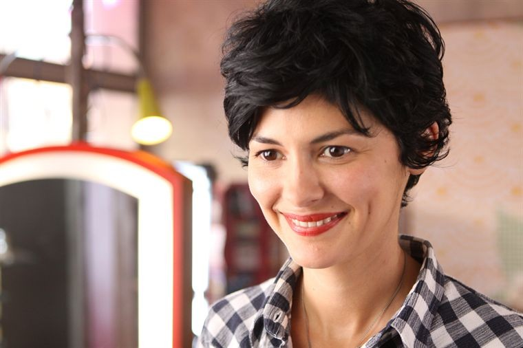 Una splendente Audrey Tautou nella commedia De vrais mensonges
