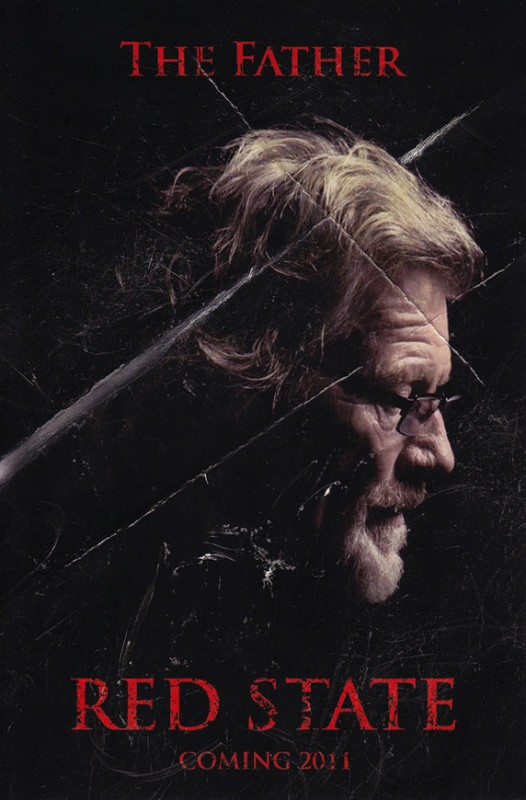 Character Poster per Red State - The Father