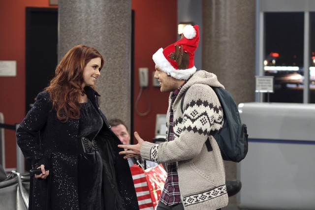 Joanna Garcia e Jake Lacy in Better With You in Better With Christmas Crap