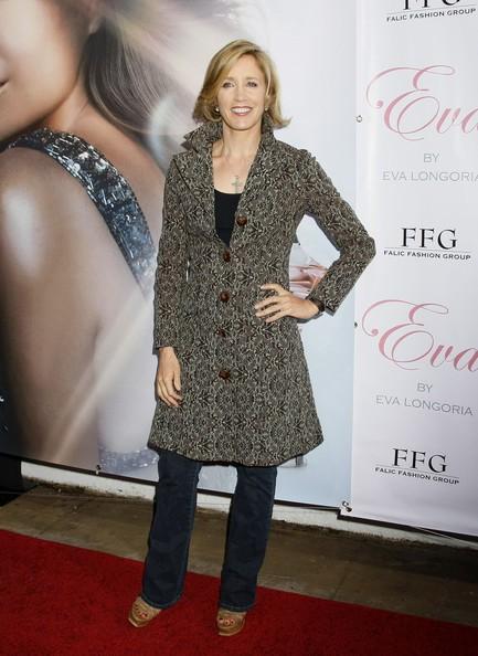 Felicity Huffman è tra gli ospiti dell'evento di lancio del profumo di Eva Longoria 'Eva'.