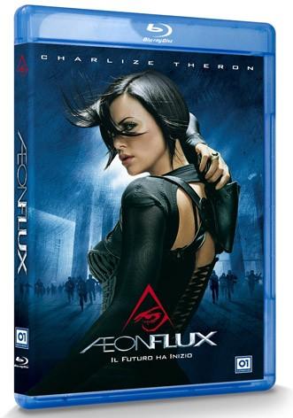 La copertina di Aeon Flux (blu-ray)
