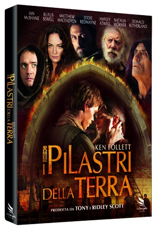 La copertina di I pilastri della Terra (dvd)