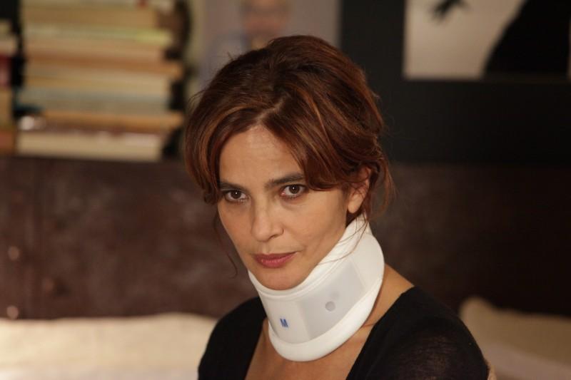 Laura Morante in un primo piano del film La bellezza del somaro