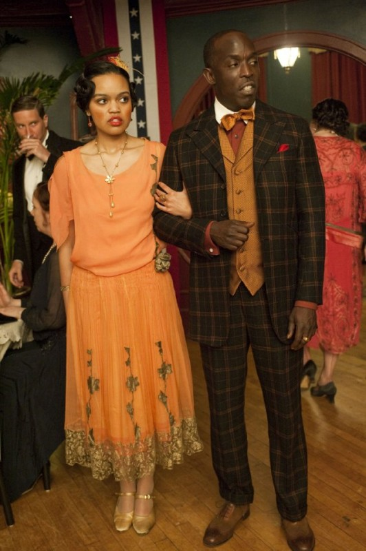 Michael K. Williams in una scena dell'episodio A Return to Normalcy di Boardwalk Empire