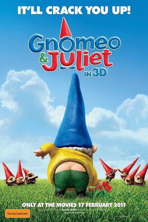 Nuovo poster per Gnomeo and Juliet