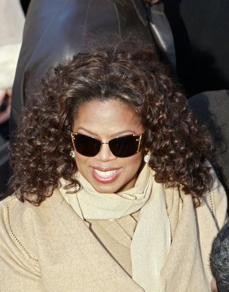 Oprah Winfrey è tra gli ospiti celebri dell'inaugurazione ufficiale della presidenza di Obama