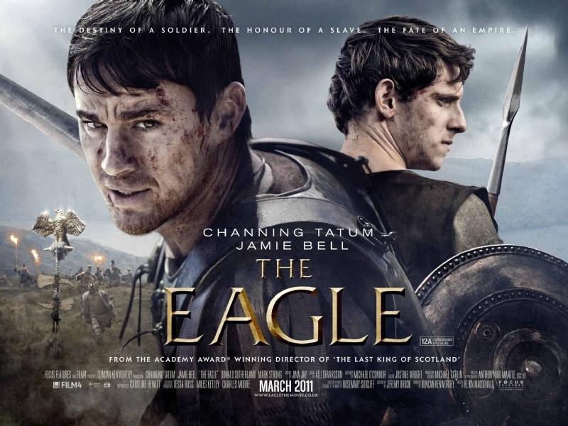 Un poster per l'action peplum The Eagle