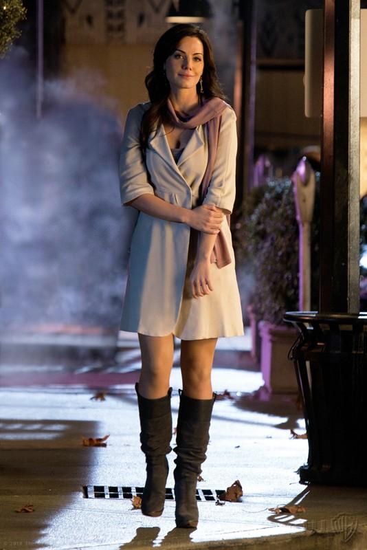 Erica Durance in una scena dell'episodio Icarus di Smallville