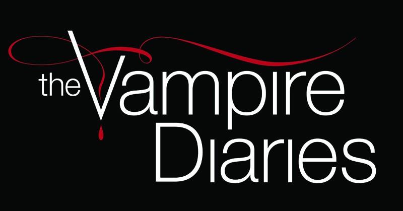 Il logo della serie The Vampire Diaries
