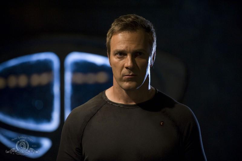 Mike Dopud in una scena dell'episodio Resurgence di Stargate Universe