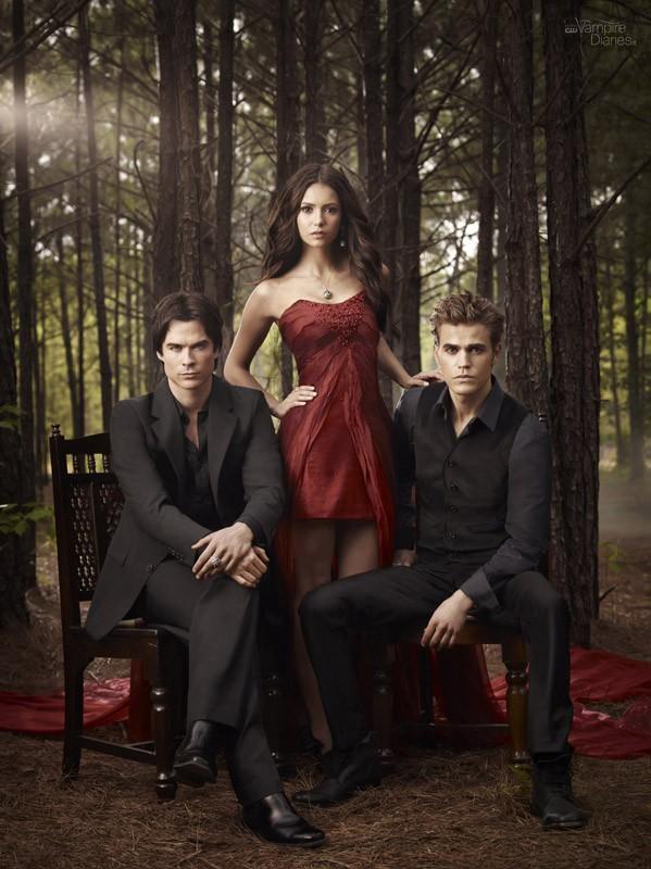 Una nuova immagine del trio protagonista per la stagione 2 di Vampire Diaries