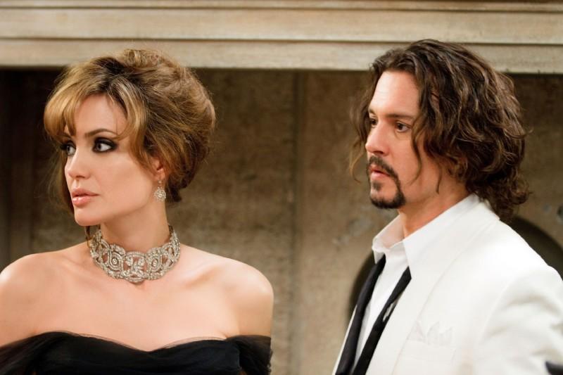 Angelina Jolie e Johnny Depp in coppia per The Tourist