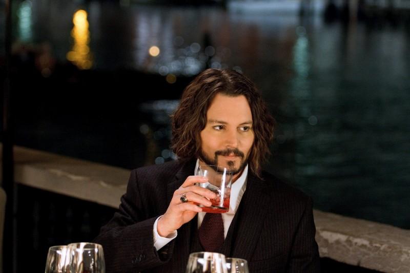 Johnny Depp in un'immagine del thriller The Tourist