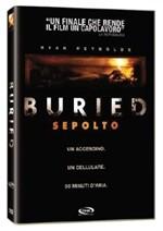 La copertina di Buried - Sepolto (dvd)