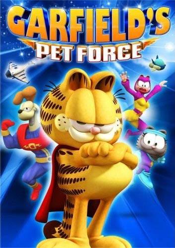 La locandina di Garfield 3D