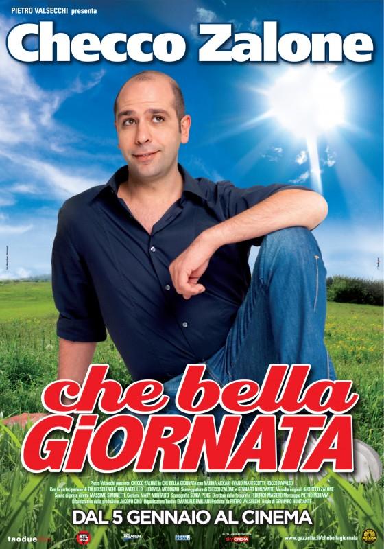 Poster di Che bella giornata con Checco Zalone