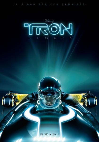 La locandina italiana di Tron Legacy