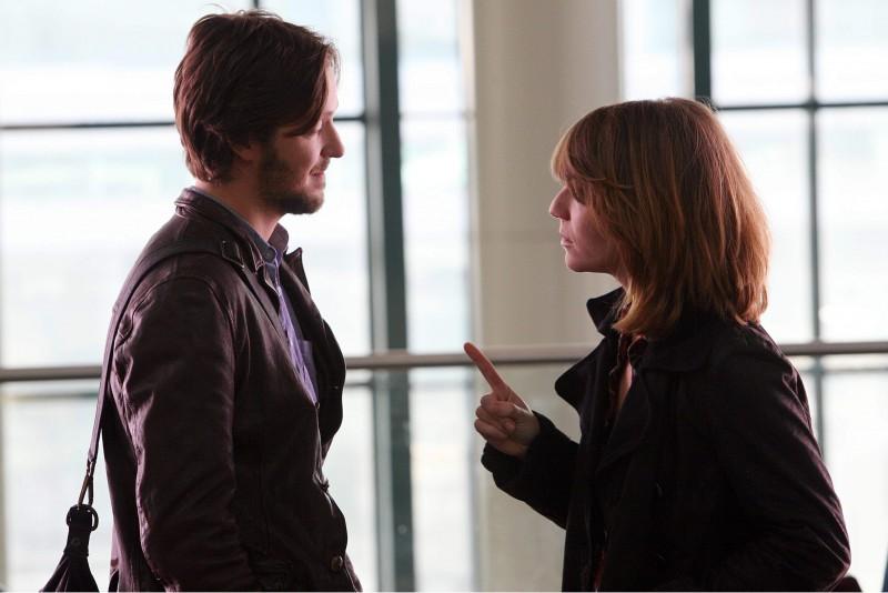 Silvio Muccino e Isabella Ragonese in una scena del film Un altro mondo