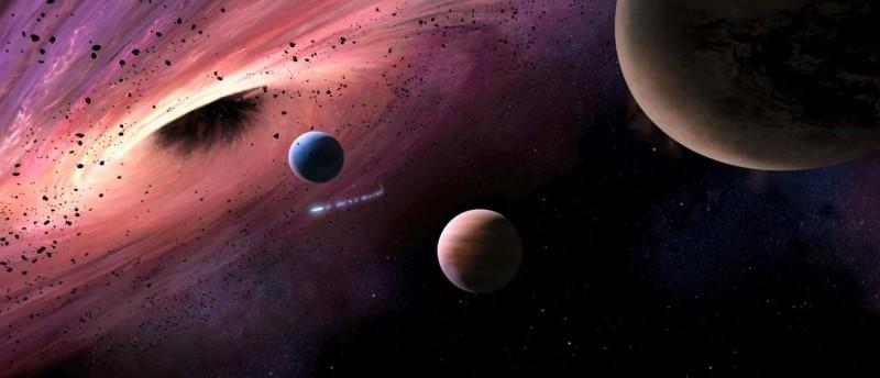 Una immagine del pianeta di origine di Megamind