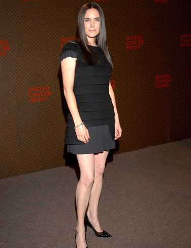 Jennifer Connelly in abito nero