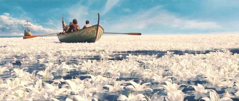 La straordinaria imbarcazione del fantasy Le cronache di Narnia: Il viaggio del veliero