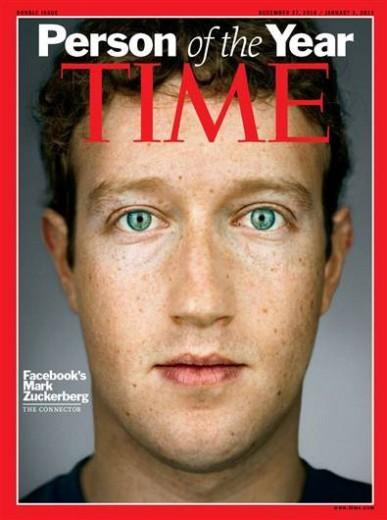 Mark Zuckerberg, fondatore di Facebook è l'uomo del 2010 per TIME