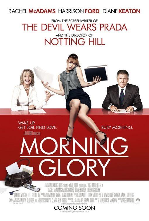 Nuovo poster UK per Morning Glory