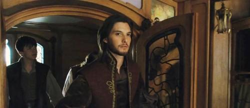 Ben Barnes in una sequenza de Le cronache di Narnia: Il viaggio del veliero