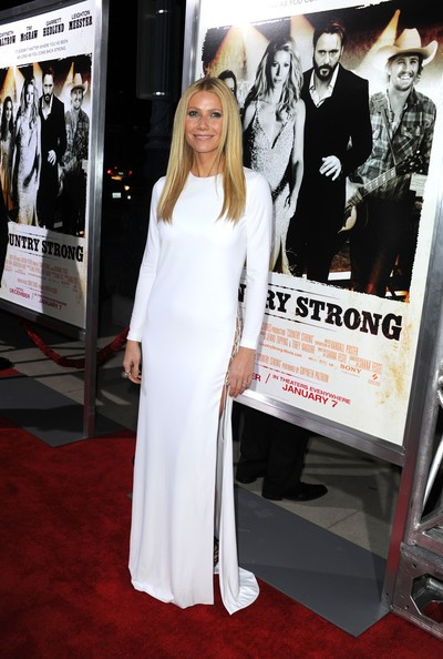 Abito candido, ma supersexy per Gwyneth Paltrow alla premiere di Country Strong