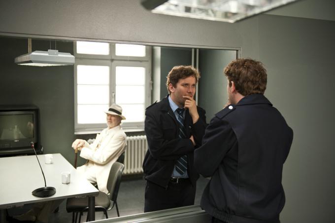 Christian Ulmen e Michael Gwisdek in una scena del film Vater Morgana