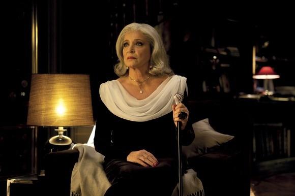 Françoise Fabian in una scena del drammatico Small World