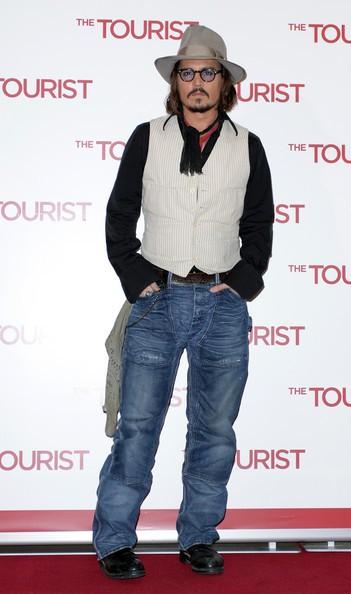 Johnny Depp presenta alla stampa italiana la thriller-comedy The Tourist