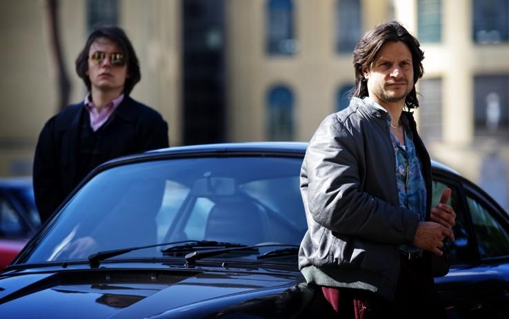 Andrea Sartoretti in una scena dell'ultimo episodio di Romanzo Criminale 2