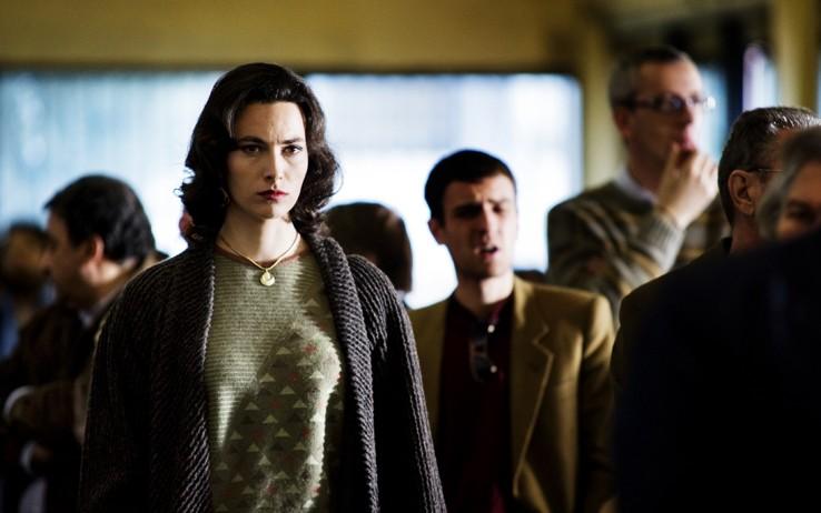 Daniela Virgilio in una scena del nono episodio di Romanzo Criminale 2