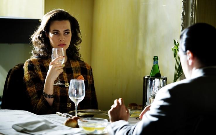 Daniela Virgilio in una scena dell'ultimo episodio di Romanzo Criminale 2