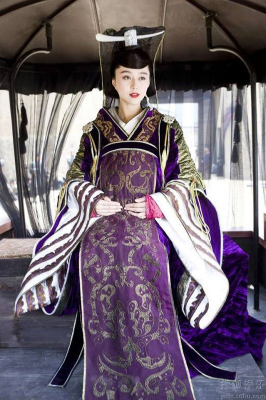 Fan Bingbing in una scena del film Sacrifice